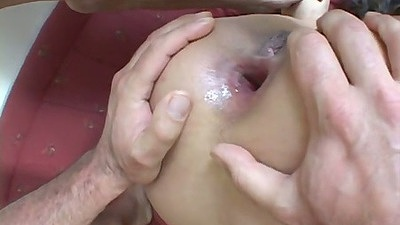 Gaping asshole Tera Joy with more large cock anal fuck