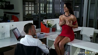 Kortney Kane a busty babe in a tight dress sucks and fucks dick views:23362