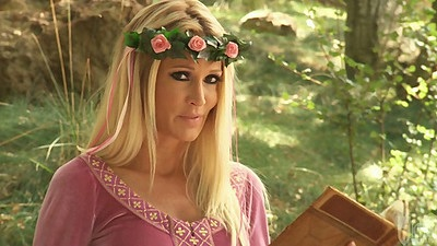 Outdoors with jessica drake reading a fairy tale porn story views:16486