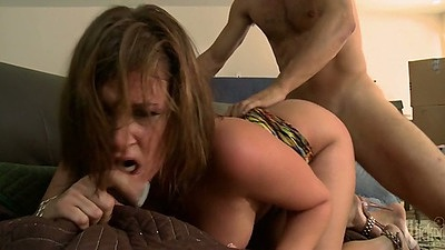 Doggy style fucking Tory Lane rough and hard how she likes it
