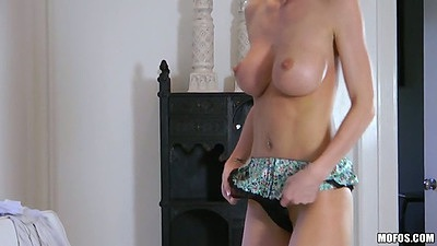 BIg tits Ashley Roberts close shaved pussy and anus touching