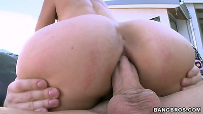 Cowgirl anal asian milf sex with Dana Vespoli with ass to mouth