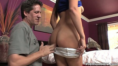 Undressing and touching ass from Bobbi Brixton