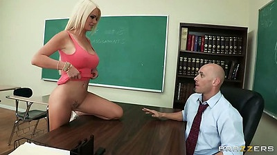 Classroom teacher and student fantasy with Alexis Ford