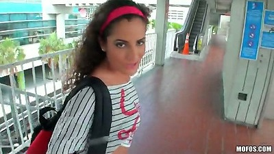 Public latina flashing Chichi Medina