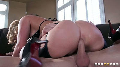Cowgirl anal big ass milf with ass to mouth from Krissy Lynn