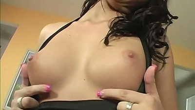 Nice perfect natural petite tits latina spreading her pussy lips views:2992