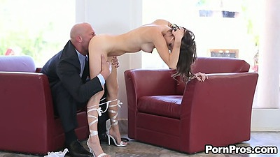 Pussy licking Jenni Lee with a blowjob for big dick