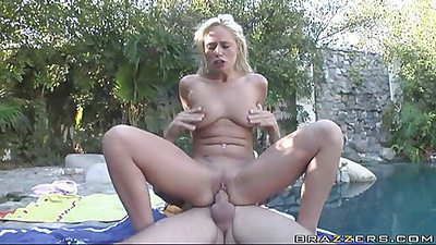 Angline all wet rides dick and sucks it after scuba lesson
