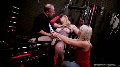 Machines milf fetish bondage with Emma Ash