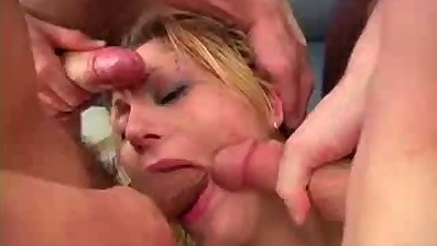 Mouth violated rough sex gagging and deep throat with mascara running slut