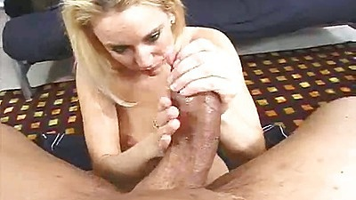 Erin pov handjob and sex for a large fat cock