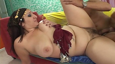 Hairy indian housewife sex with Dakini