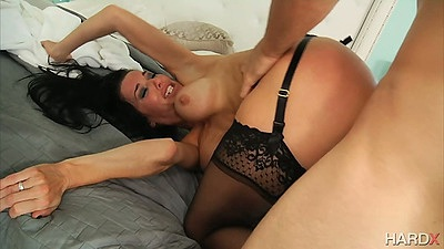 Horny milf gets rough sex plowed from rear view Veronica Avluv views:2845