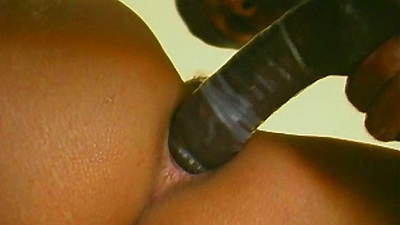 Close up anal black girl sex with double penetration Frankie La Rue views:849
