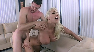 Fucking from behind a perfect shaped milf with round juggs Puma Swede views:1463