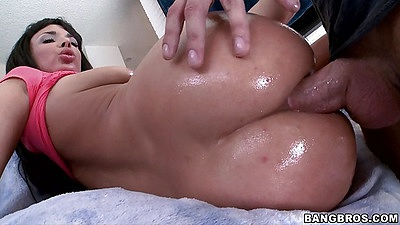 Sideways perfect shaped ass anal penetration Anissa Kate views:452