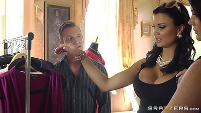 Fully clothed chicks change into something sexy Emma Leigh and Jasmine Jae views:1988
